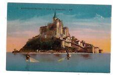 mont-saint-michel  ,  côté du nord-est