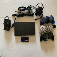 Sony PS2 SLIM Video Game System Gaming Bundle With A Few Extra Accessories Teste