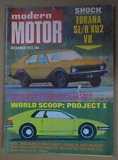 Modern Motor Dec 1973 Ford XB GT Falcon Hardtop Saab 99 EMS Project Ilinga