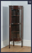 Edwardian Antique Cabinets Display Cabinets