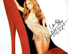Kimberley WALSH Singer Girls Aloud SIGNED Autograph 10x8 Glamour Photo AFTAL COA