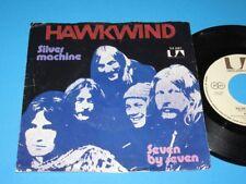"Hawkwind / Silver Machine - Seven By Seven (Germany 1972, 35 381) - 7"""