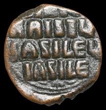 Anonymous Follis, Class A, 976-1028 AD. Jesus Christ King of Kings