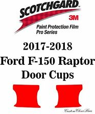 3M Scotchgard Paint Protection Film Pro Series Clear 2017 2018 Ford F-150 Raptor