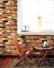 Wallpaper Color Brick Wall Pattern Bedroom Mural Roll Texture Modern Background