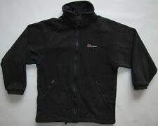 Berghaus Performance Mountain Windbloc Polartec fleece top jacket black mens S