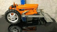 HUBLEY DIECAST MIGHTY METAL TRACTOR LOADER FARM TOY MODEL 501 RARE WORKS!   5794