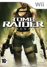 Wii Game Lara Croft ´s Tomb Raider Underworld New
