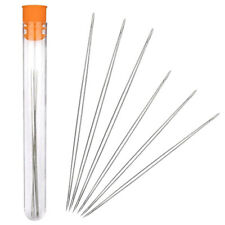 6x Size(2.2&3'') Big Eye Beading Needles Beading Tools Kit for Jewellery Making