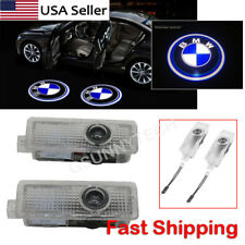 2 For BMW Logo LED Step Door Courtesy Welcome Light Ghost Shadow Laser Projector