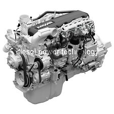 Paccar MX13 Remanufactured Diesel Engine Long Block or 3/4 Engine