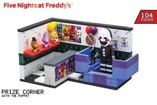 Five Nights At Freddy's PRIZE CORNER + The Puppet Construction Set 104 pcs