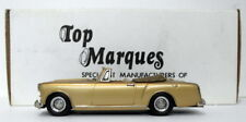 Top Marques 1/43 Scale HE10 - 1961 Alvis TD Convertible S1 - Gold