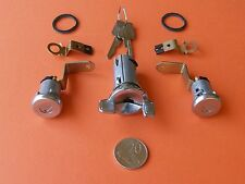 IGNITION BARREL + 2 D00R LOCKS SUIT HOLDEN HQ HJ HX TORANA LJ LH LX + STATESMAN