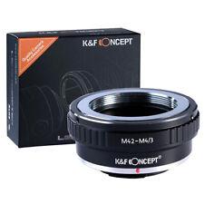K&F Mount Converter M42 Lens on Micro 4/3 MFT Mount Cameras