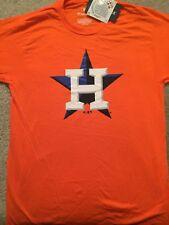 HOUSTON ASTROS ORANGE FANATICS T Shirt  BRAND NEW WITH TAGS MEN'S SMALL