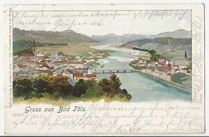 MAGMA LITHO AK Bad Tölz Verl. Dewitz  1901 gute Erhaltg selten