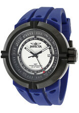 New Mens Invicta 11333 I-Force Contender GMT White Dial Blue Swiss Quartz Watch