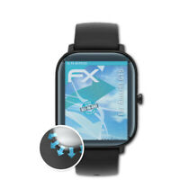 atFoliX 3x Lámina Protectora para Amazfit GTS transparente&flexible
