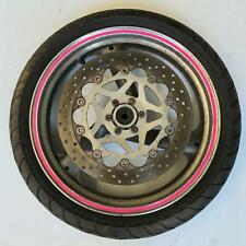 Front wheel rim tyre disc straight Yamaha FZX250 250 zeal 1999