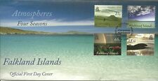 FALKLAND ISLANDS 2010 ATMOSPHERES FOUR SEASONS  STANLEY CANCEL FDC
