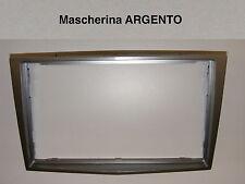 Mascherina autoradio Doppio 2 Din OPEL H Astra Corsa Zafira dal 2005 Argento