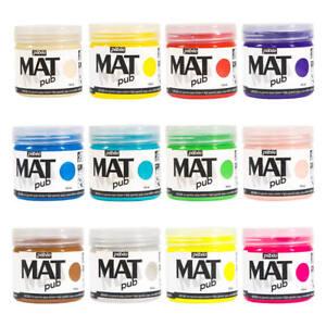 Pebeo MAT PUB Professional Art, Mural & Outdoor Acrylic Paint 140ml, 29 Colours