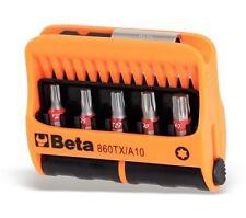 Beta Tools 860TX/A10 10pc Torx Bit Set in Plastic Case