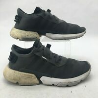 Adidas Mens 11 Pod-s3.1 Lace Up Low Top Athletic Trainers Sneakers Grey G27906