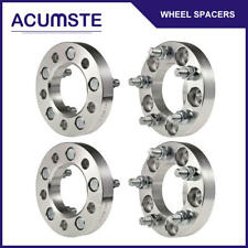 "4PCS 1""Inch Wheel Spacers 5x4.5 For Ford Mustang Lincoln Mercury Jeep 1/2"" Studs"