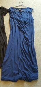ASOS maternity pregnancy long blue dress size UK 14