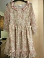 Sweet Lolita Dolly Pink Kawaii Dress 8-10