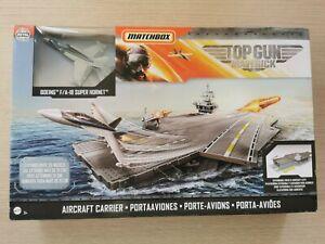 Matchbox Top Gun Maverick Aircraft Carrier with Boeing F/A-18 Super Hornet