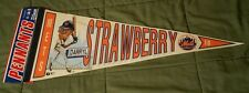 NEW Vintage MLB Darryl Strawberry Mets Full Size Pennant #18 EXTREMELY RARE