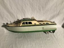 Ito Wooden Model Cabin Cruiser Boat circa 195