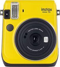 Camara Instantanea Fujifilm Instax mini 70 amarilla