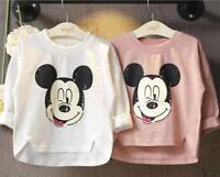 1 pc baby kids clothes girls long sleeve T shirt girls cotton top cartoon