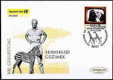 BRD 2009: Grzimek! Post-FDC der Nr 2731! Berliner Ersttags-Sonderstempel! 1A 154