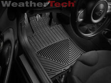 WeatherTech All-Weather Floor Mats - Mini Cooper / Cooper S - 2007-2011 - Black