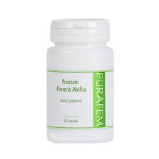 Purafem 100% Premium Pueraria Mirifica extracto 60 cápsulas, píldoras, pastillas