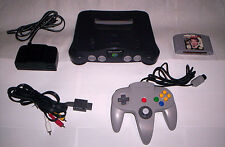 N64 007: Goldeneye Game & Great Nintendo 64 Console System Accessories Lot
