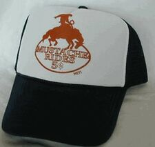 Mustache Rides 5 cents Trucker Hat Mesh Hat Snap Back Hat brown