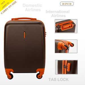 18inch ligweightht Domestic & International Carry on Cabin Size Suitcase Luggage