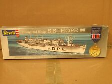 Vintage Revell  S.S. Hope Hospital Ship 00007 1:471 Scale Model New Sealed Box