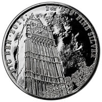 2017 Great Britain 1 oz. Silver Landmark of Britain Big Ben £2 Mint Cap SKU47505