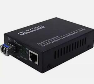 Olycom TA330-GE SFP Fiber Media Converter Optical Gigabit 10/100/1000M