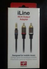IK Multimedia ILINE RCA Output Adapter - Mobile Music/ Audio Cable -- 150cm