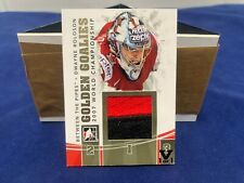 Dwayne Roloson Between The Pipes JerseyCard 2015/16 ING Red Vault #GG-19 NM MT