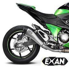 SILENCIEUX EXAN X-BLACK EVO INOX KAWASAKI Z800 2013/16 - K274CO-I