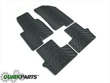 2007-2012 Dodge Caliber Slate Gray Slush All Weather Rubber Floor Mats Set MOPAR